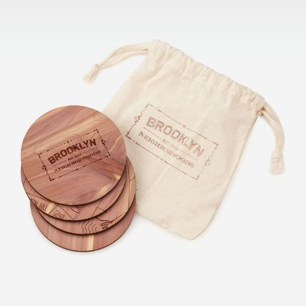 Picture of Brooklyn Map Cup Pad